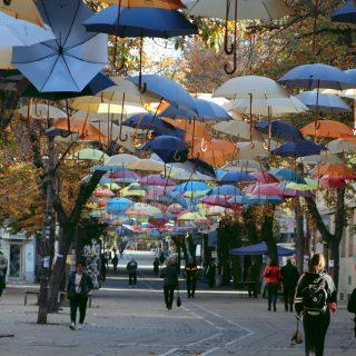 Есенен ден под благоевградските чадъри